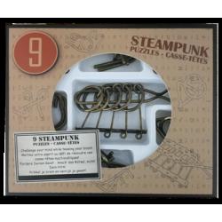 9 Rompicapo Steampunk Marrone