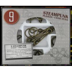 9 Rompicapo Steampunk Grigio