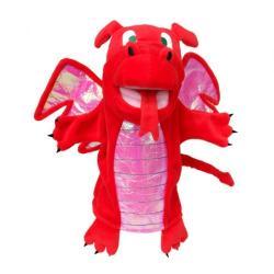 Burattino Drago rosso