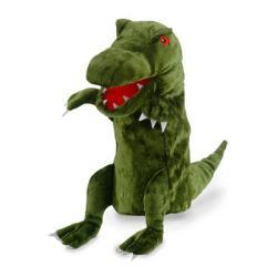 Burattino Dinosauro verde