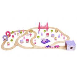 Trenino Citta delle Principesse set trenino dai 3 anni