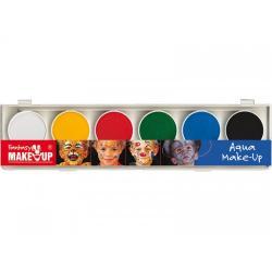 Tavolozza 6 colori ad acqua