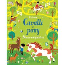 Blocco Enigmistico Cavalli e Pony + 6 anni