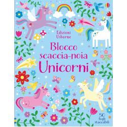Blocco Scaccia Noia Unicorni +5 anni