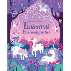 Blocco Enigmistico Unicorni +6 anni