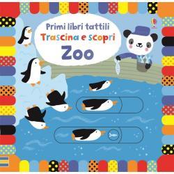 Libro trascina e scopri Zoo da 1 -2 anni
